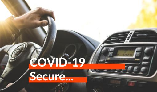 COVID-19 secure...