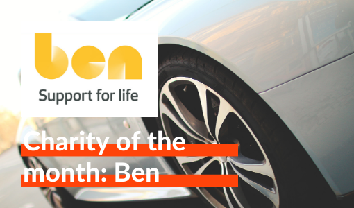 Charity of the month: Ben