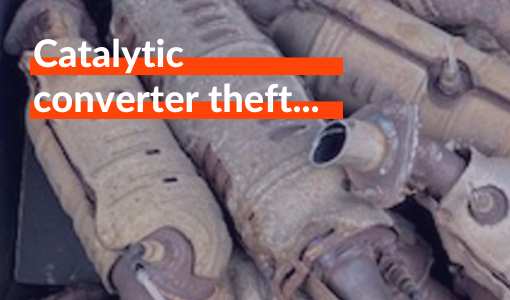 What is catalytic converter theft and why is it on the rise?